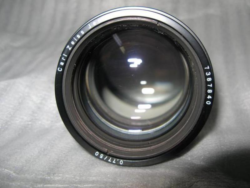 Large Format Mount Lens List
