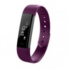 ID115 Smart Armband Sport Fitness Tracker - Lila