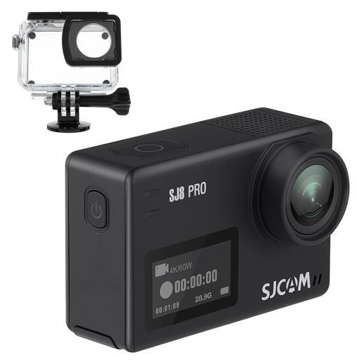 SJCAM SJ8 Pro 4 K WiFi Action Camera (Preto)