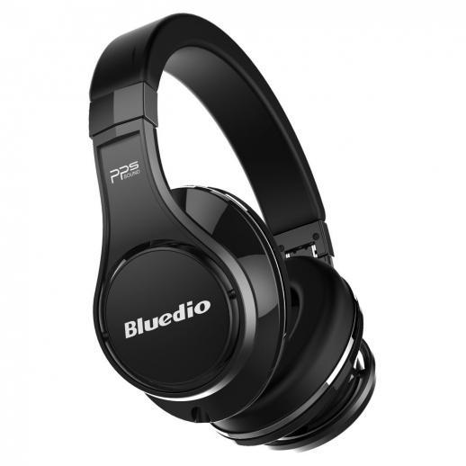 Bluedio U (UFO) Fones de ouvido Bluetooth Revolução Over-Ear / 3D Sound Effect / Hi-Fi - Preto