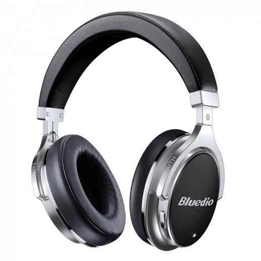 Bluedio F2 Active Noise Cancelando Bluetooth Headphones - Preto