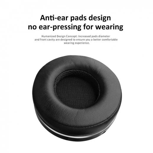 Bluedio T5 Active Noise Cancelling Bluetooth Headphones - Black