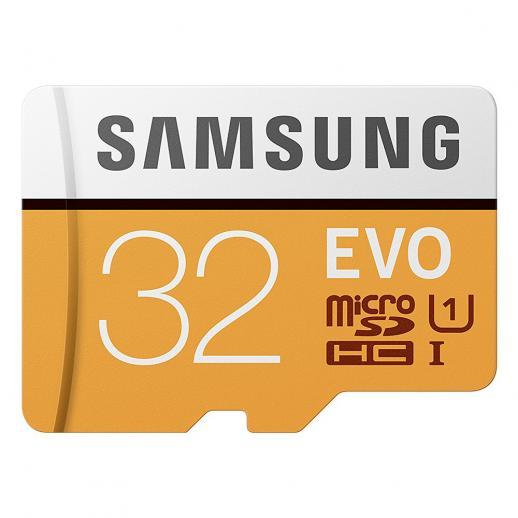 Cartão de Memória Samsung 32GB MicroSD EVO 95MB / s U1