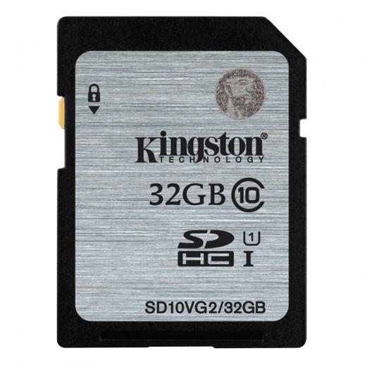 Classe de Cartão de Memória Kingston 32GB SDHC 10 UHS-I 45R / 10W