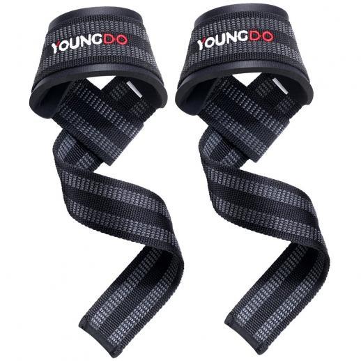 NEW 1x Heavy Duty Wrist Wraps Weight Lifting Body Building Training Strap UK