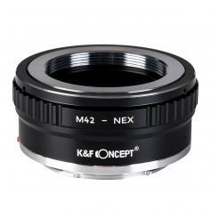 Adapter für M42 Objektiv auf Sony E Mount Kamera Kupfer