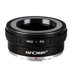 K&F Adapter für M42 Objektiv auf Fuji X Mount Kamera