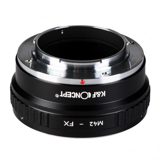 Adapter für M42 Objektiv auf Fuji X Mount Kamera Kupfer