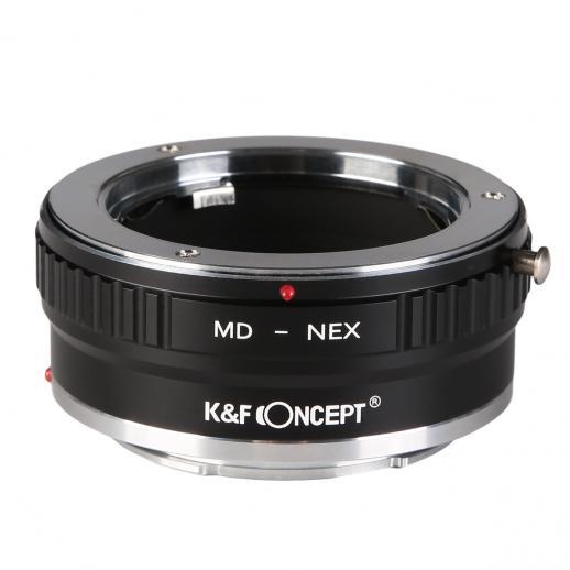 Adapter für Minolta MD MC Objektiv auf Sony E Mount Kamera Kupfer