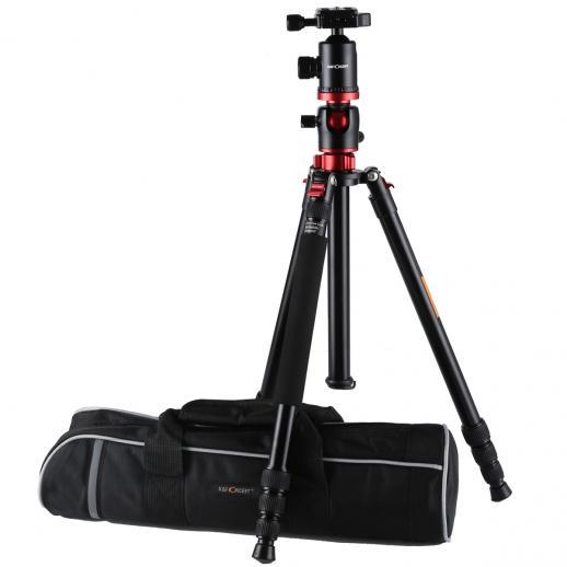 TM2534T Aluminium Kamerastativ Fotostativ Reisestativ Einbeinsativ-Funktion