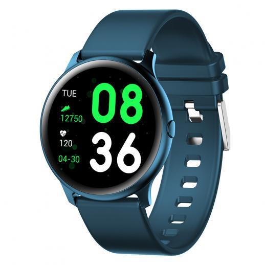SmartWatch unissex sport KW19 compatível com Android e iOS-Azul