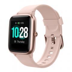 Bluetooth ID205L HD Écran Smartwatch Étanche Portable Fréquence Cardiaque Sports Poursuivant  1,3 Pouces pour Android IOS Smart Watch
