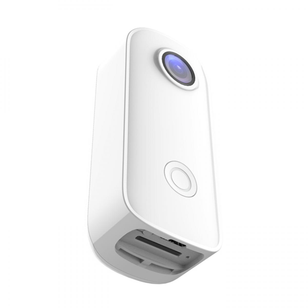 SJCAM C100 + mini câmera esportiva life camera 2K 30FPS H.265 NTK96675 WiFi 30M à prova d'água pode ser usada como uma câmera web branca