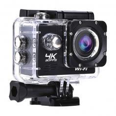 AT-Q1 4K30FPS Sport Action Kamera Ultra HD Camcorder 13MP WiFi Wasserdichte Kamera (Schwarz)