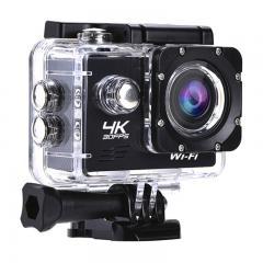 AT-Q1 4K30FPS Sport Action Camera Caméscope Ultra HD Caméra étanche WiFi 13MP (Noir)