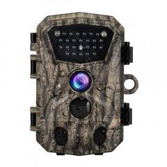 """Caméra de chasse H883 Mini Trail 1080P HD Caméra de chasse IP66 étanche à la faune avec 12 mois de veille et vision nocturne 2.4 """"LCD IR LED"""