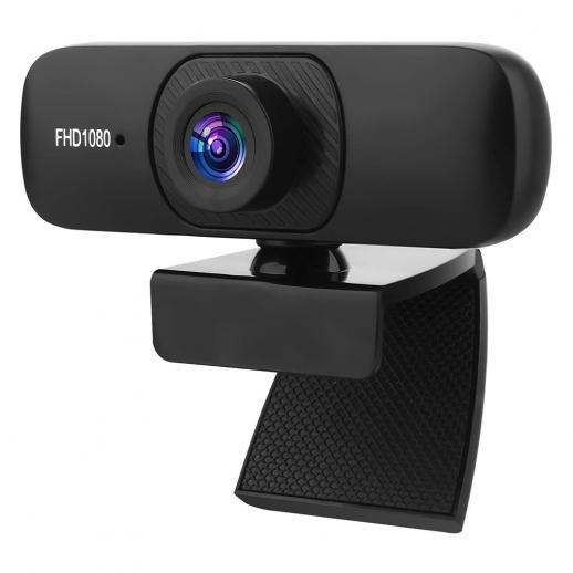 C60 2 Miljoner Webbkameror, Hd-Webbkameror Med Mikrofon , Multikompatibel Strömmande Datorkamera För Onlinekurser / Videokonferens / Samtal / Spel
