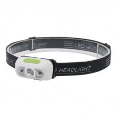 BORUIT B6-1 rechargeable sensor Headlamp 1000LM high brightness 15 hours long battery life and multiple modes for outdoor running, cycling, camping and fishing