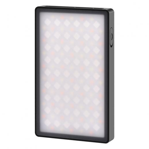 Full-color RGB fill light pocket light portable LED photography light multi-function live fill light handheld lighting