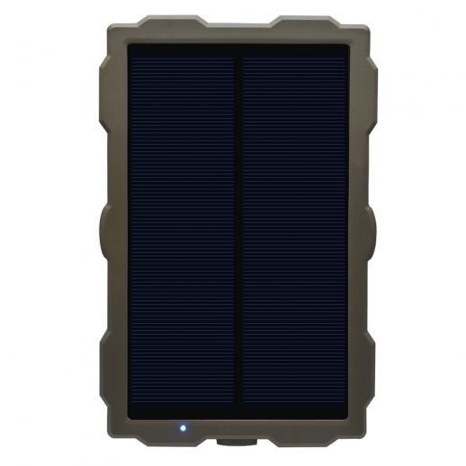 Painel solar de câmera de trilha DC 6V 1500mAh Banco de energia solar IP56 à prova d'água para câmeras de jogos de caça