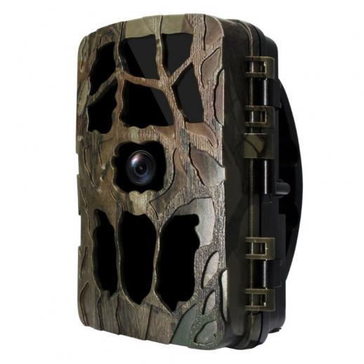 Câmera de trilha, câmera de vida selvagem 20MP 4K HD, câmera de jogo de caça de cervos ativada por movimento com LEDs infravermelhos de 40 PCS 850nm Visão noturna de até 82 pés, LCD de 2,4 polegadas, IP66 à prova d'água, tempo de disparo de 0,3S