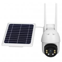 1080P Solar Power WiFi-Heimüberwachungskamera IP66 mit 2-Wege-Audio