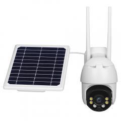 Caméra de sécurité extérieure Conico 1080P WiFi Caméra de surveillance à domicile avec panoramique / inclinaison, vision nocturne couleur