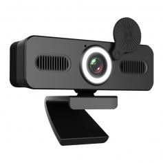 Webbkamera 200w HD-datorkamera Mikrofon PC-webbkamera, Full-widescreen bärbar dator USB-webbkameror, Mac-dator anteckningsbok webbkamera