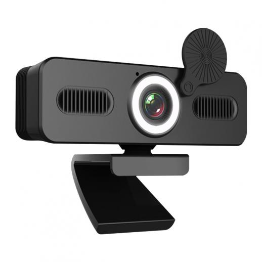 Webcam 200w HD Computercamera Microfoon PC-webcamera, volledig breedbeeldlaptop USB-webcams, Mac Desktop Notebook-webcam