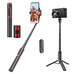 3 Axis Foldable Gimbal Stabilizer with Remote Control Object Tracking Video Stabilizer
