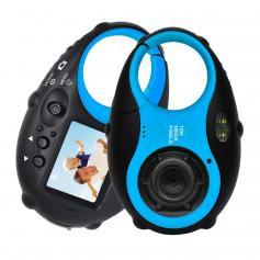12MP 4X Digitalzoom Digitale Kinderkamera mit Video - Schwarz und Blau