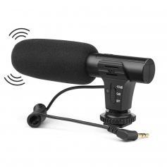 Professionelles Richtmikrofon für DSLR-Kameras - mit P2 Trev MIC002-Eingang