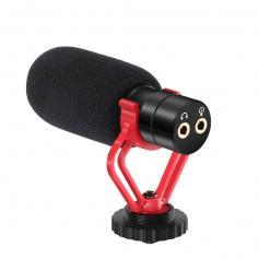 Kamera Shotgun-Mikrofon für Interviews - Windschutzscheibe mit Stoßdämpferhalterung