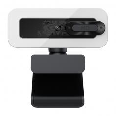 C202 Kamera internetowa 30FPS ze światłem wypełniającym, autofokusem, kamera internetowa USB 2K HD z mikrofonem, kamera internetowa typu plug and play, regulowana jasność, ochrona prywatności, kamera internetowa USB do komputerów stacjonarnych MAC, Zoom S