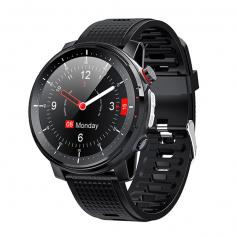 L15 color screen full touch smart watch,10 exercise mode monitoring, IP68 waterproof