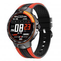 1,28 Zoll IPS-Voll-Touch-Farbbildschirm-Smart-Armband IP68  -Orange