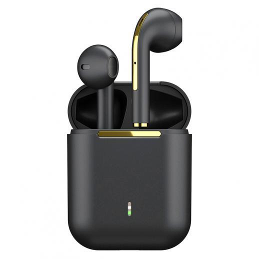 Auricolari Bluetooth TWS Auricolari wireless Cuffie intrauricolari nero per dispositivi mobili