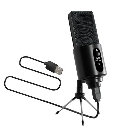 W111 192Khz/24Bit USB-condensatormicrofoon met statief