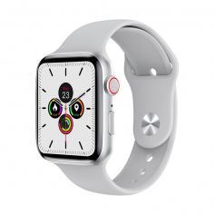 """W26+ PRO Smart Watch 1,75"""" Full-Touchscreen mit Herzfrequenz kompatibel mit Android iOS Weiß"""