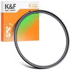 Filtre de Cadre mince protection UV MC de 58 mm avec revêtement multi-résistant pour objectif d'appareil photo