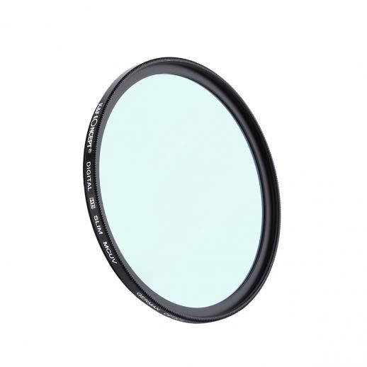 K&F KU04 58mm MC Filtro UV Design fino para DSLR
