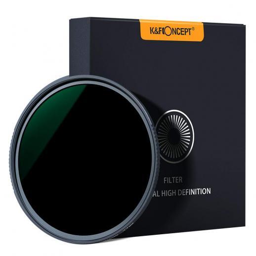 K&F XN25 52mm 10 Nano Multi-Resistente Revestimento ND1000 Filtro
