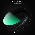 Filtro ND Variable 82mm ND2-ND32 Densidad Neutra Nano-X