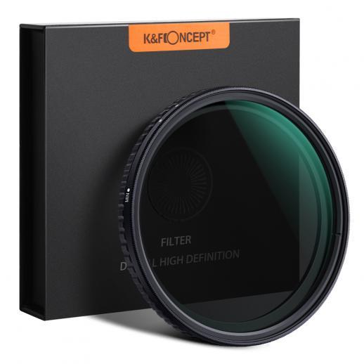 K&F XV39 52mm Filtro ND8-ND128 Variável Nano Revestido