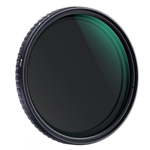 K&F XV39 58mm Variable ND8-ND128 Filtres Nano Coated