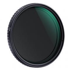 Filtre à Densité Neutre Variable 67mm nd8 à nd128, Filtre ND en Verre Optique Sans Spot/Noir/18 Couches de Nano Coating nd8 nd16 nd32 nd64 à Nd128