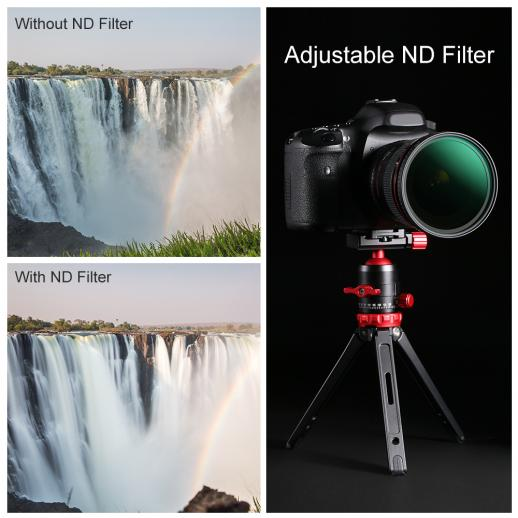 Graufilter Variabler ND 82mm ND8-ND128 Nano-X