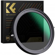 XB41 77mm variabler ND&CPL Filter 2 in 1 Funktion Nanobeschichtung Kein X-Kreuz