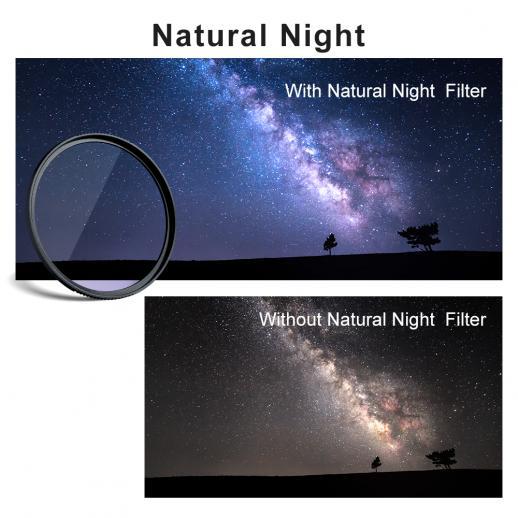 Filtro Notte Naturale 77mm