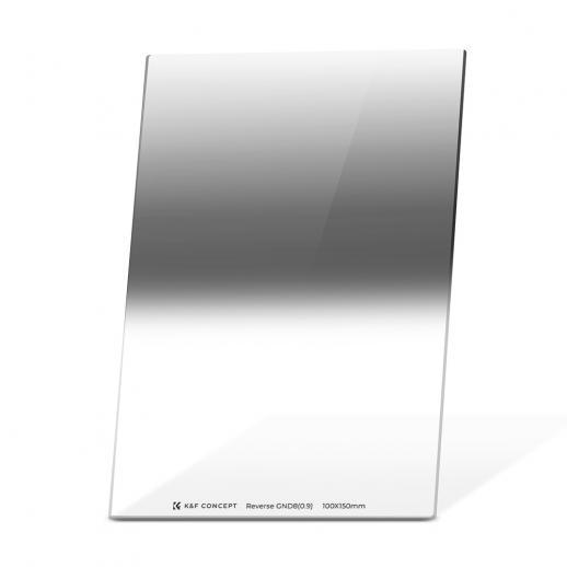 Densidad neutra inversa graduada GND8 3 f-stop Filtro 100 * 150 mm